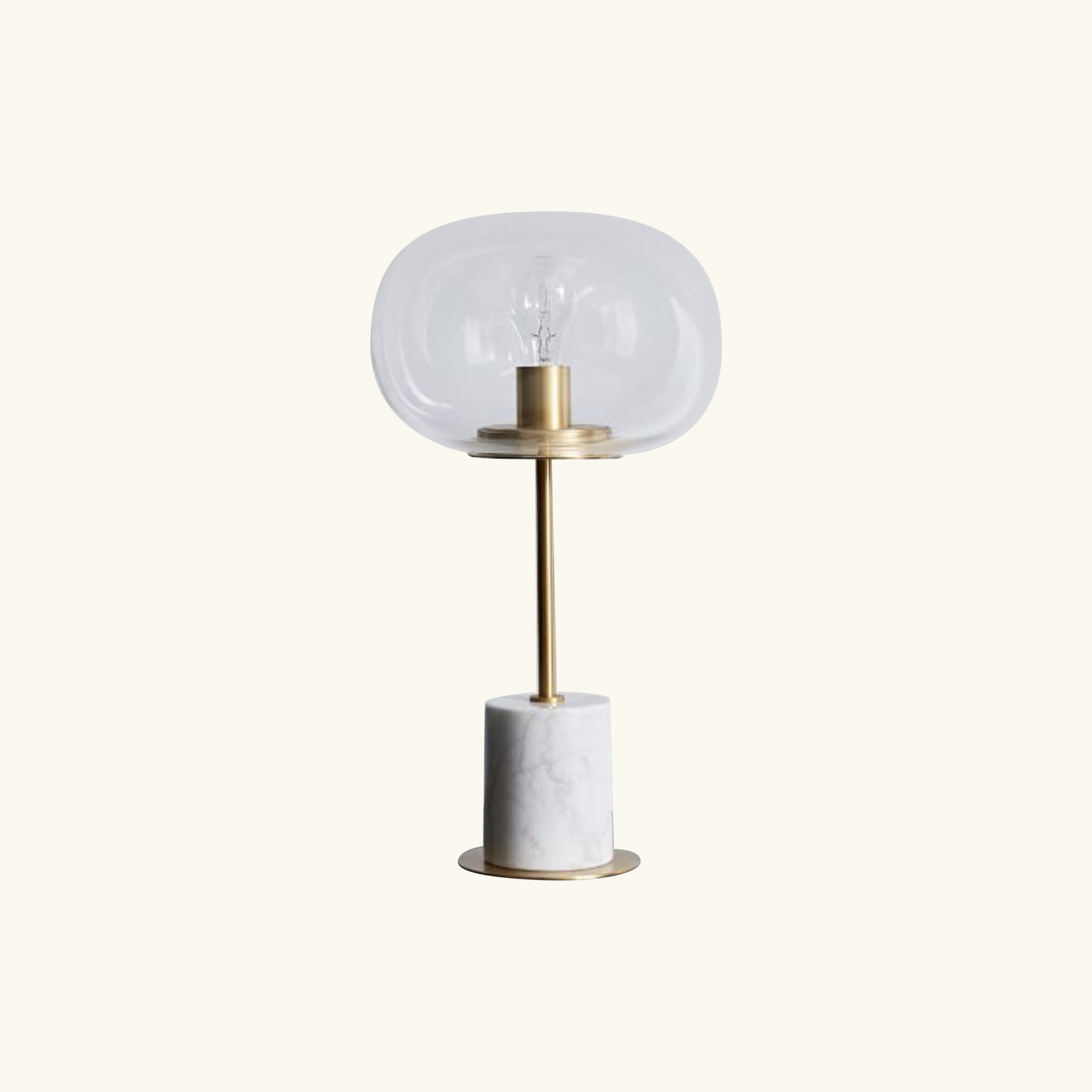 West Elm Balloon Glass Table Lamp