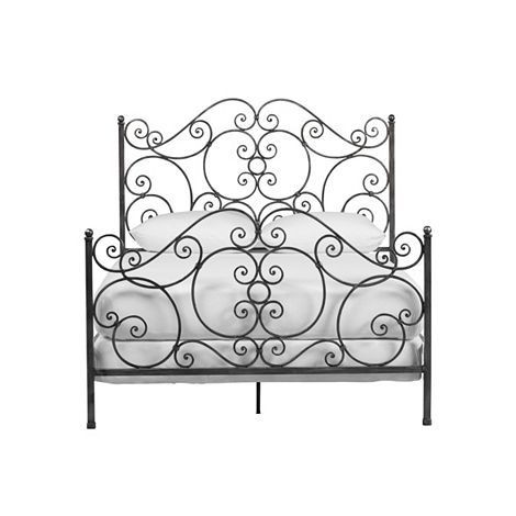 Ethan Allen Wrought Iron Bed Frame