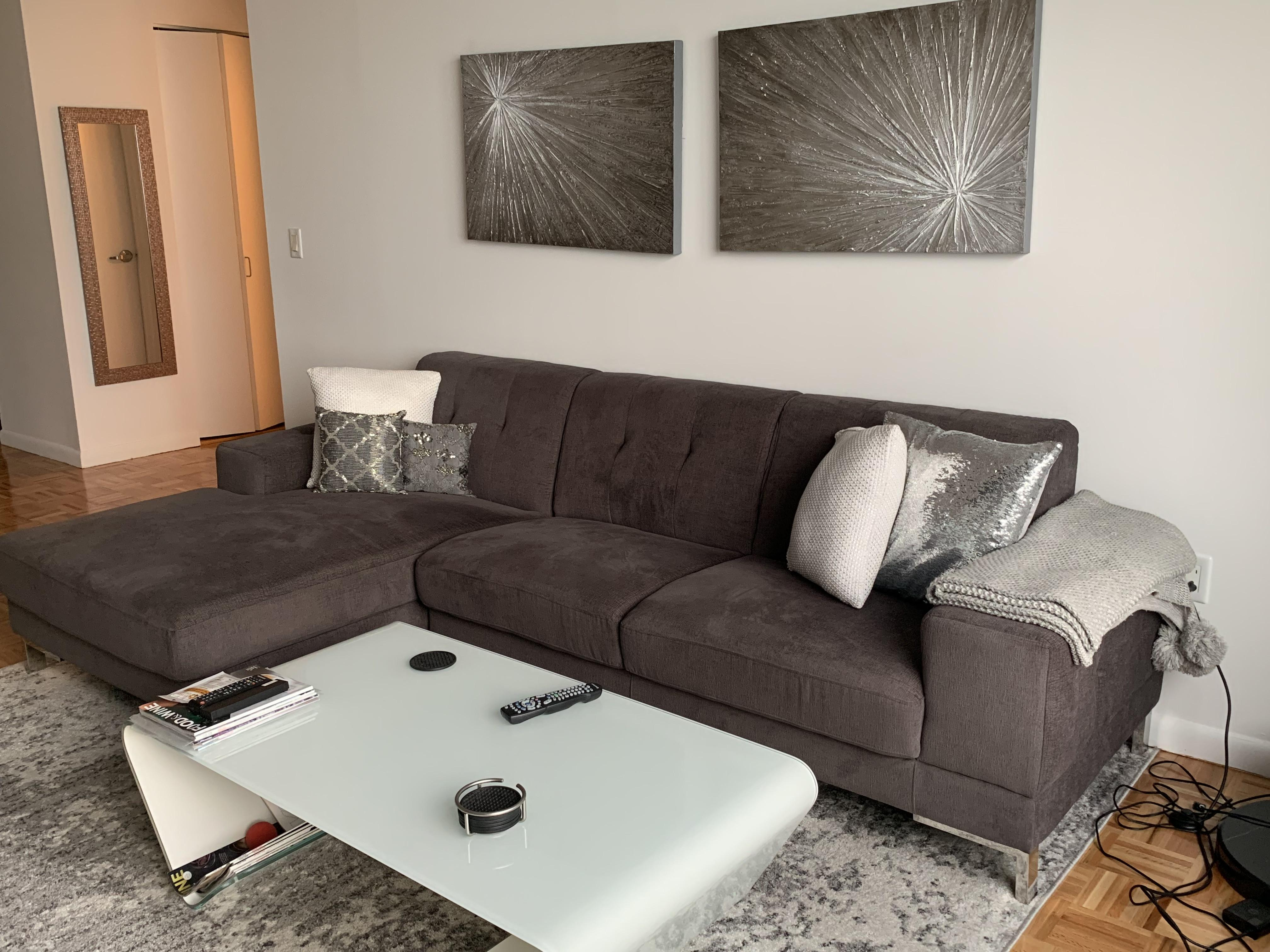 Adele 3-Piece Sectional Sofa