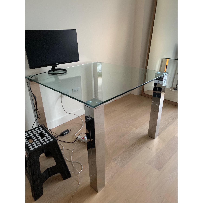 Phenomenal Structube Glass Dining Table Aptdeco Dailytribune Chair Design For Home Dailytribuneorg