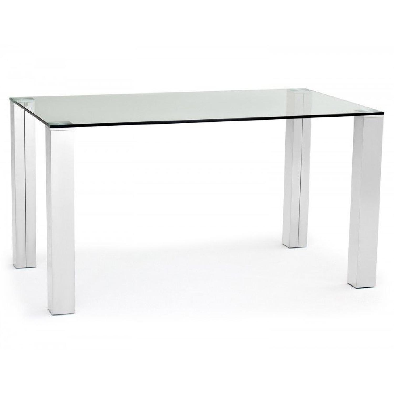 Excellent Structube Glass Dining Table Aptdeco Dailytribune Chair Design For Home Dailytribuneorg