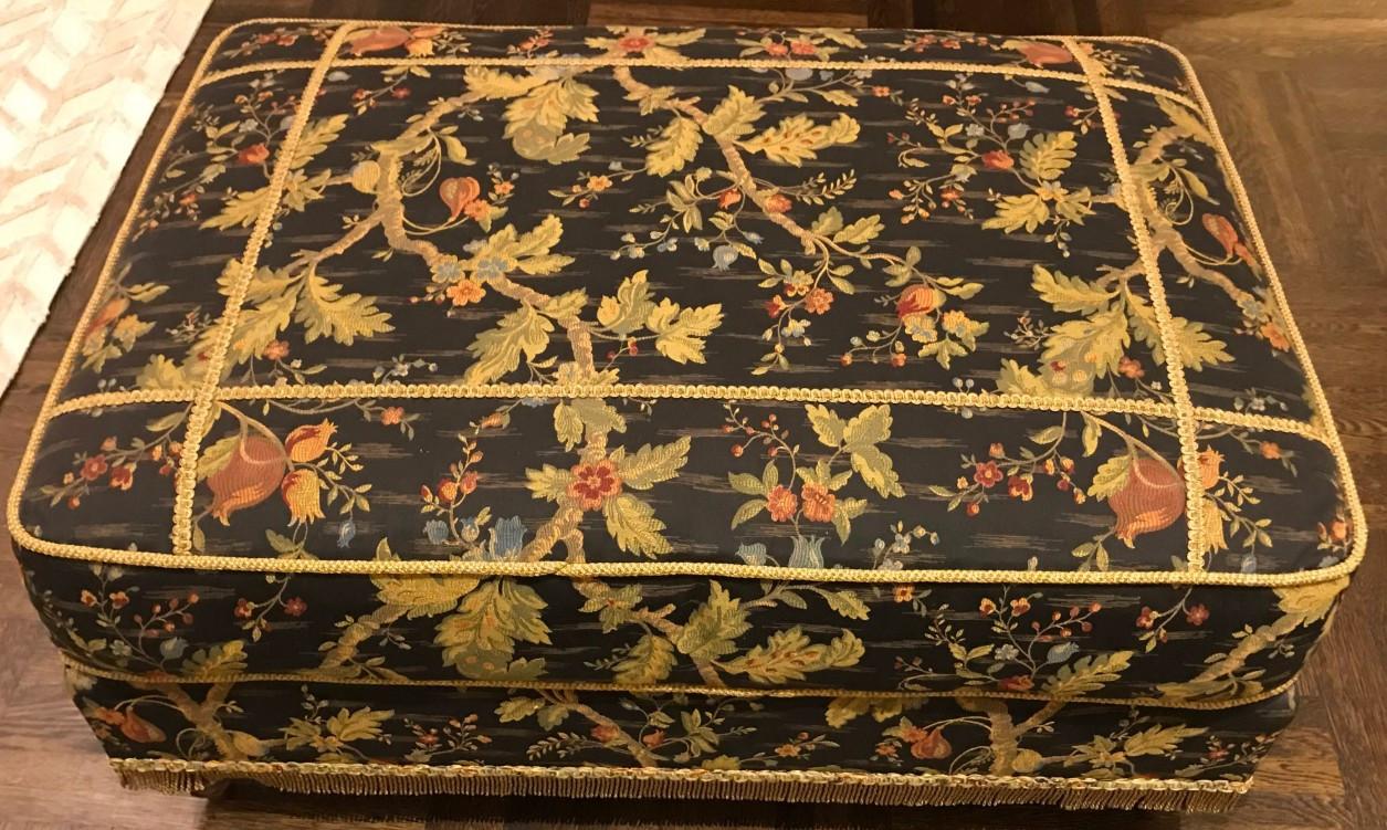 Domain Multi-Purpose Victorian-Style Ottoman