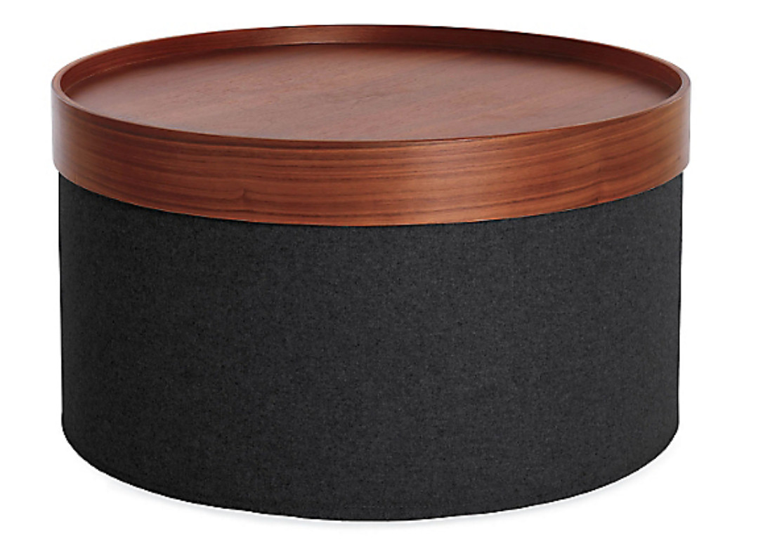 Design Within Reach Wide Drum Pouf