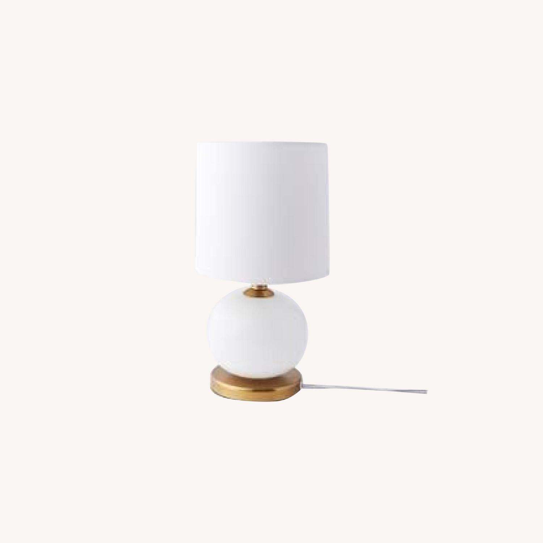 West Elm Mini Abacus Table Lamp