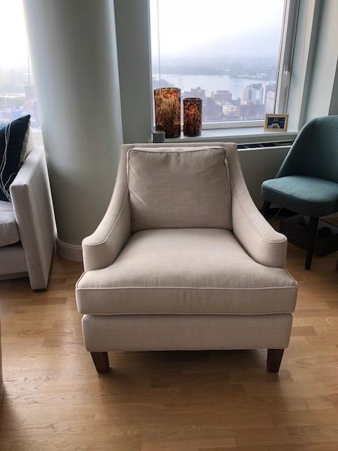Lillian August Custom Armchair