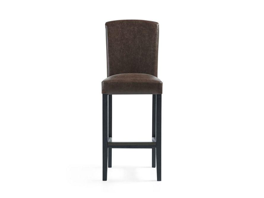 Arhaus Furniture Capri Faux Leather Bar Stools