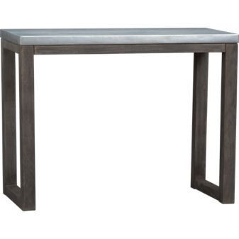 CB2 Stern Bar Height Dining Table