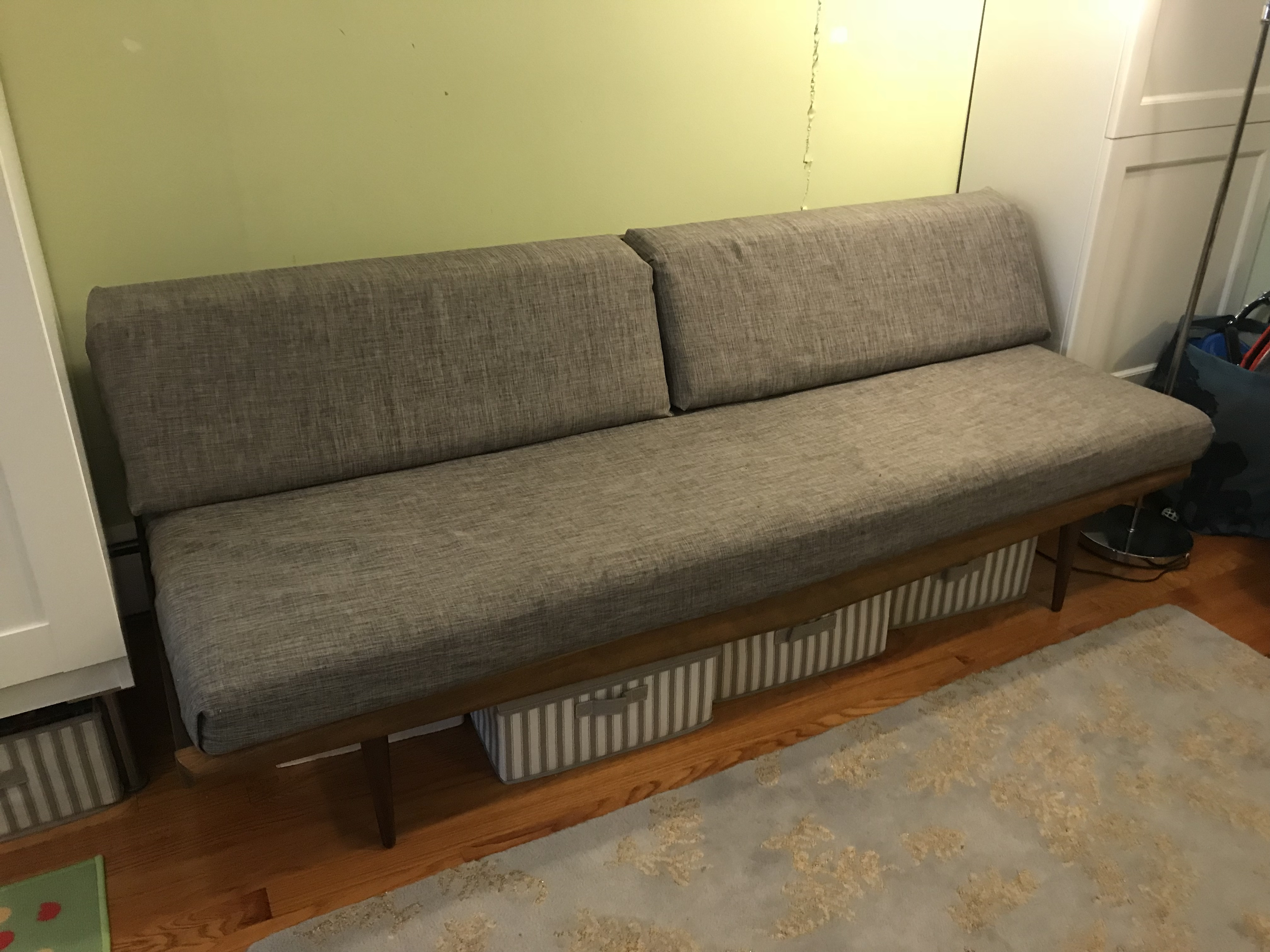 Modernica Nelson Danish Mid Century Daybed w/ Vintage Frame