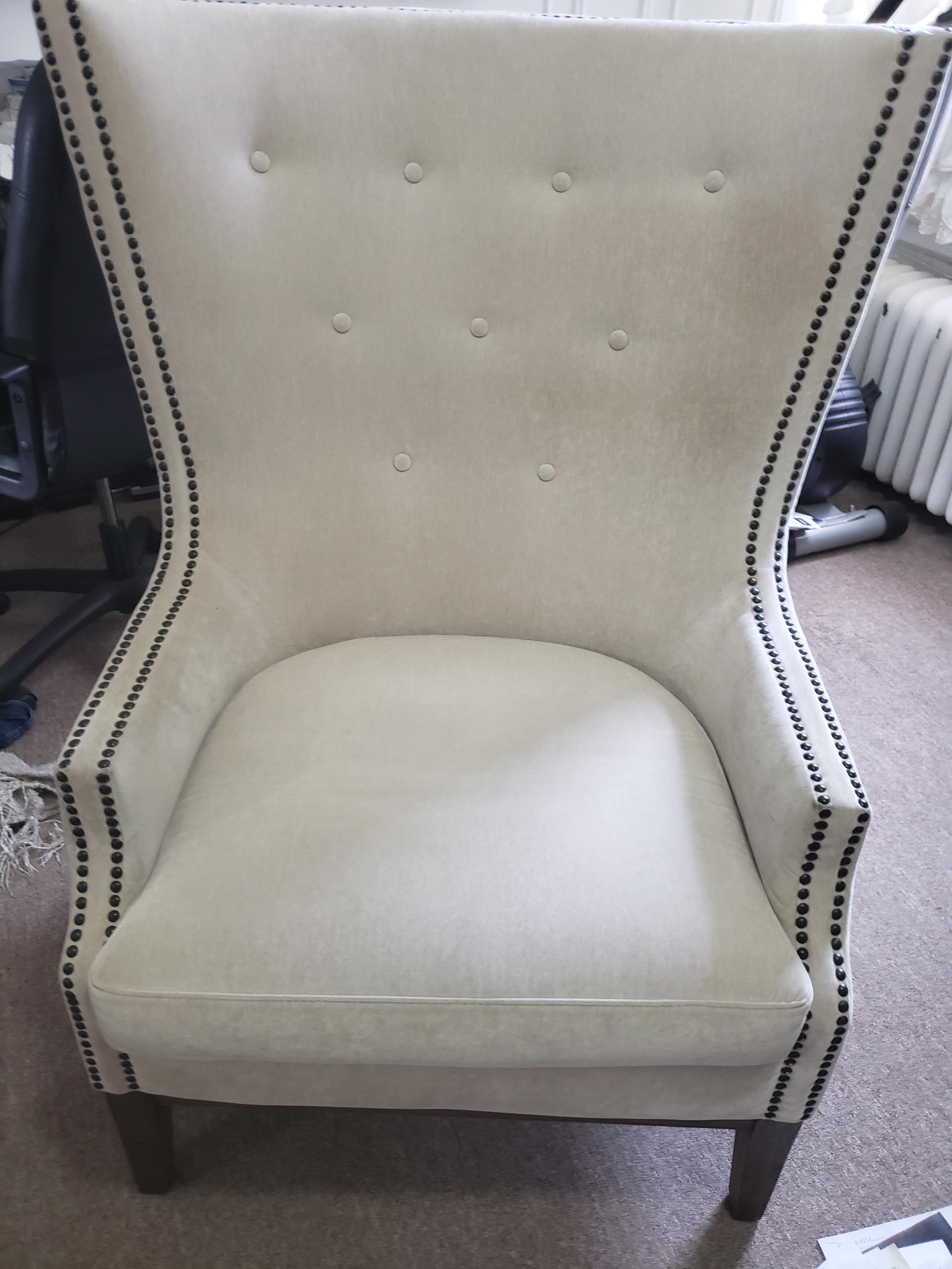 Tufted & Studded Armchair