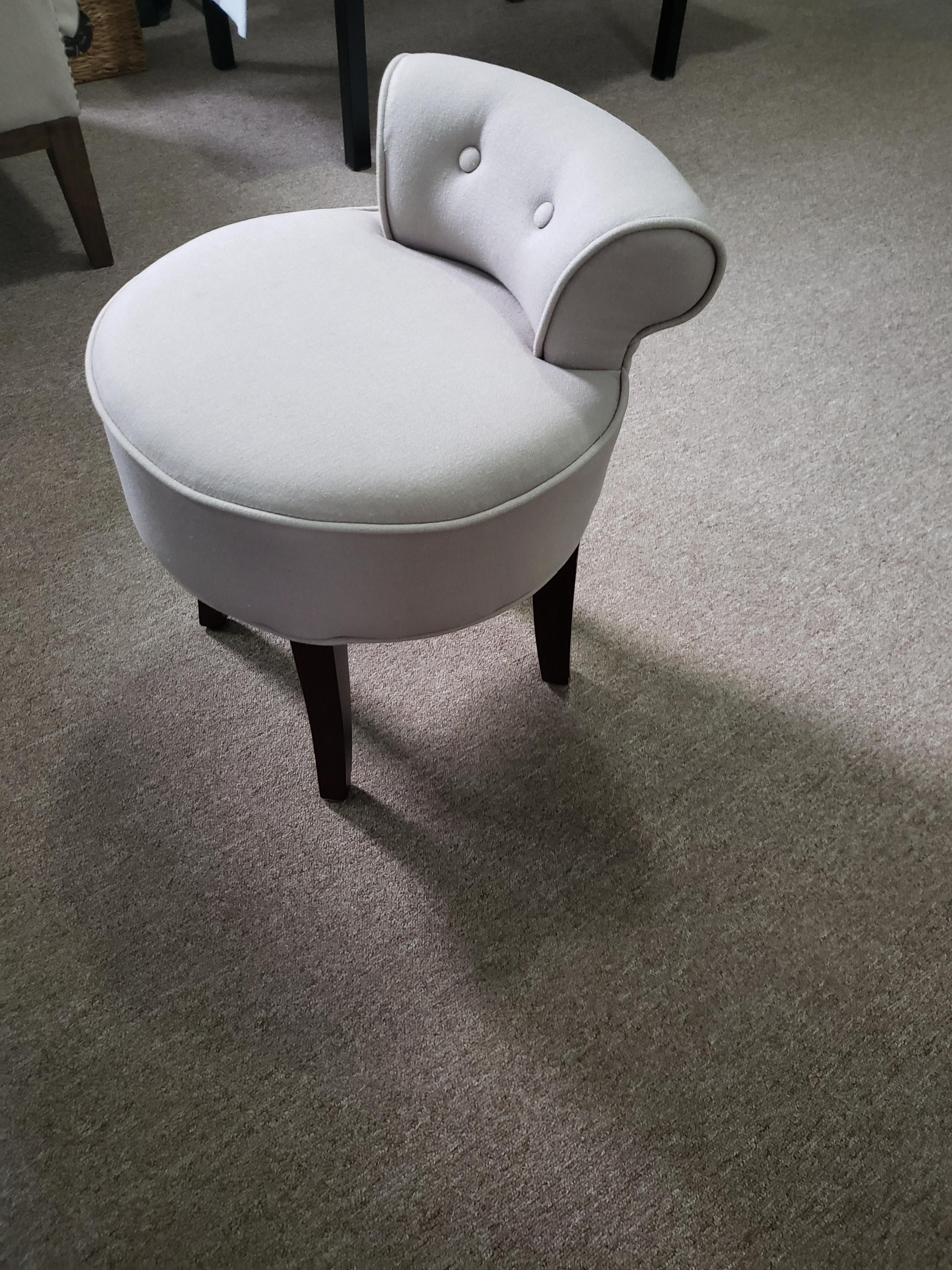 Upholstered Stool/Chair