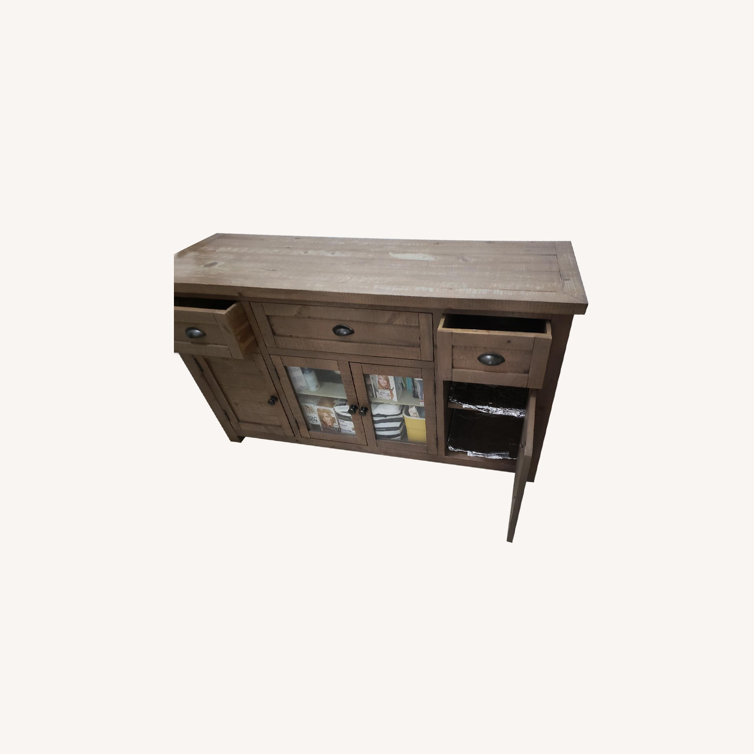 Wood Storage Cabinet/Sideboard