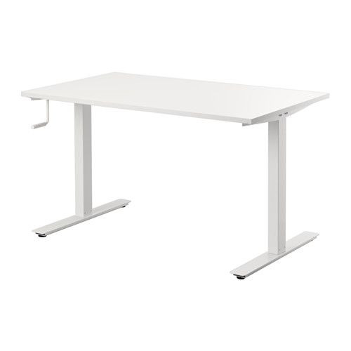 Ikea Skarsta Sit/Stand White Desk
