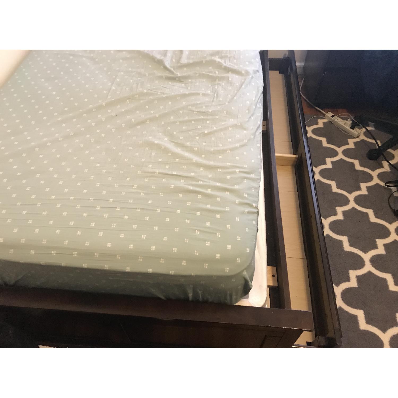 Bob S Twin Size Espresso Bed W Trundle Aptdeco
