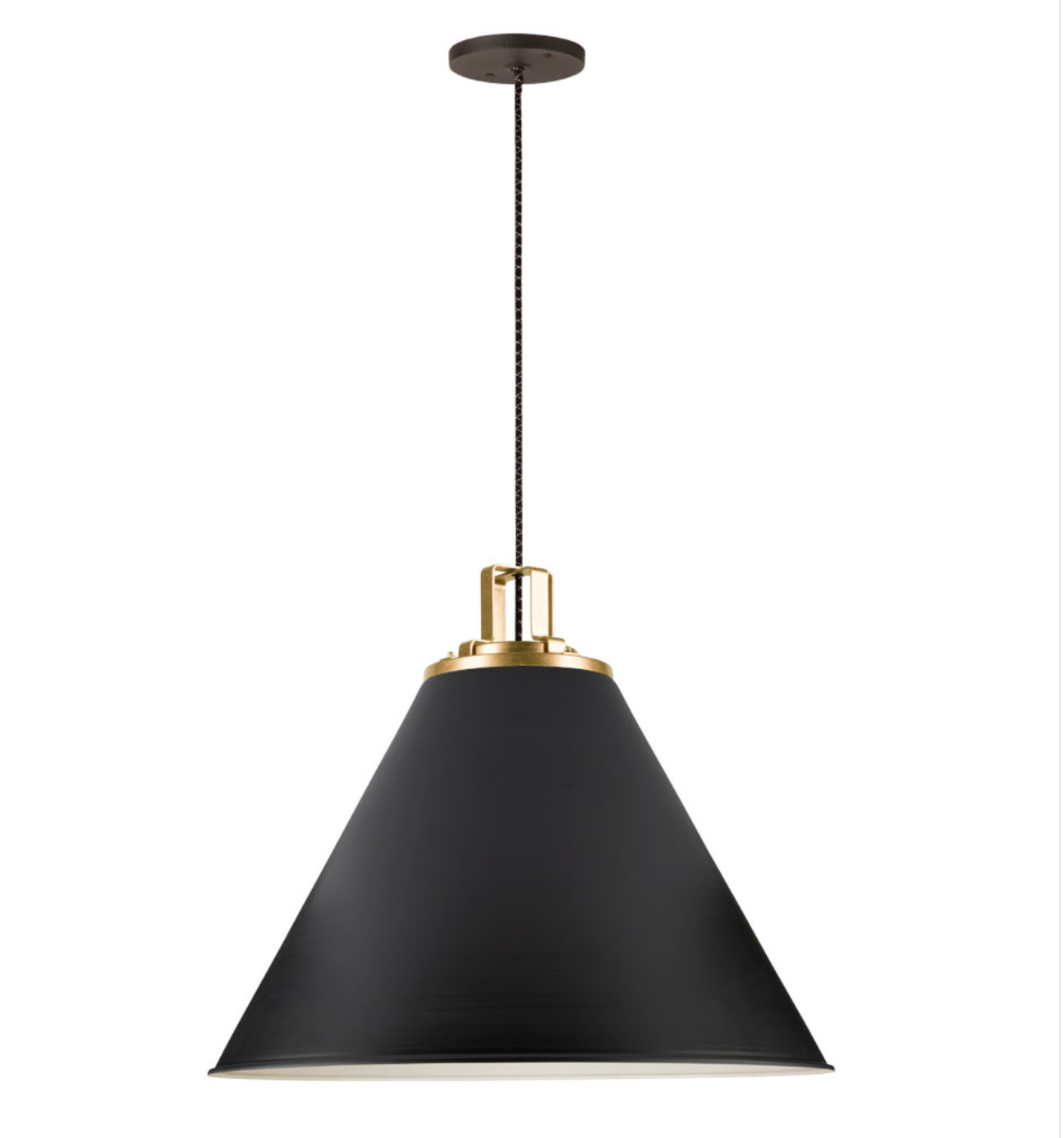 Rejuvenation Brass Pendant Lights
