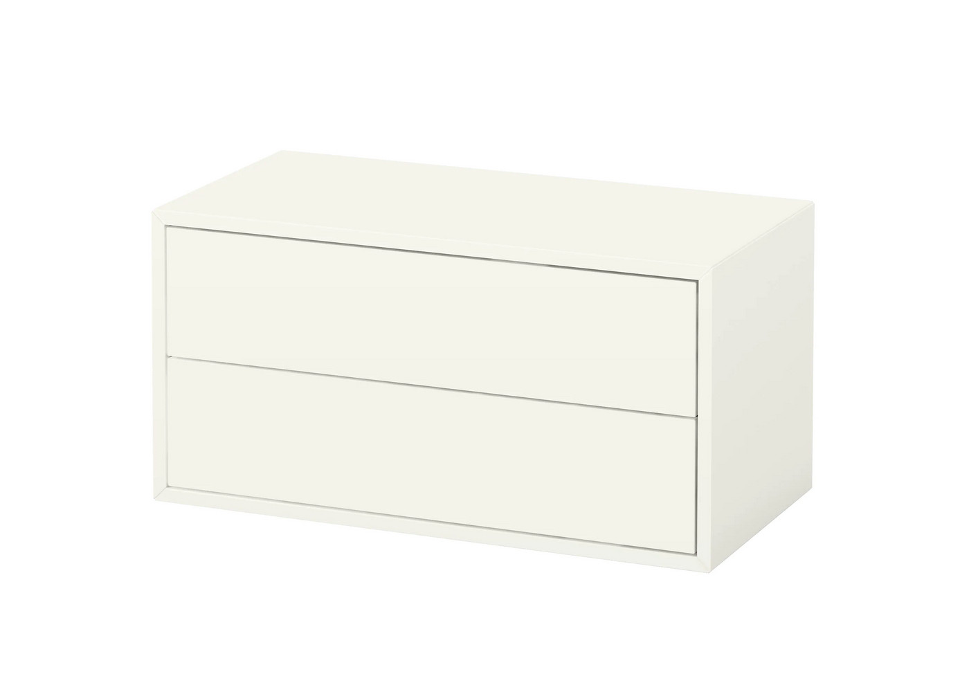 Ikea Eket 2 Drawer White Cabinets