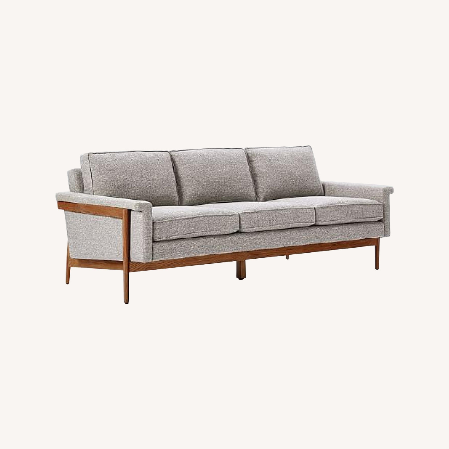 West Elm Grey Leon Sofa
