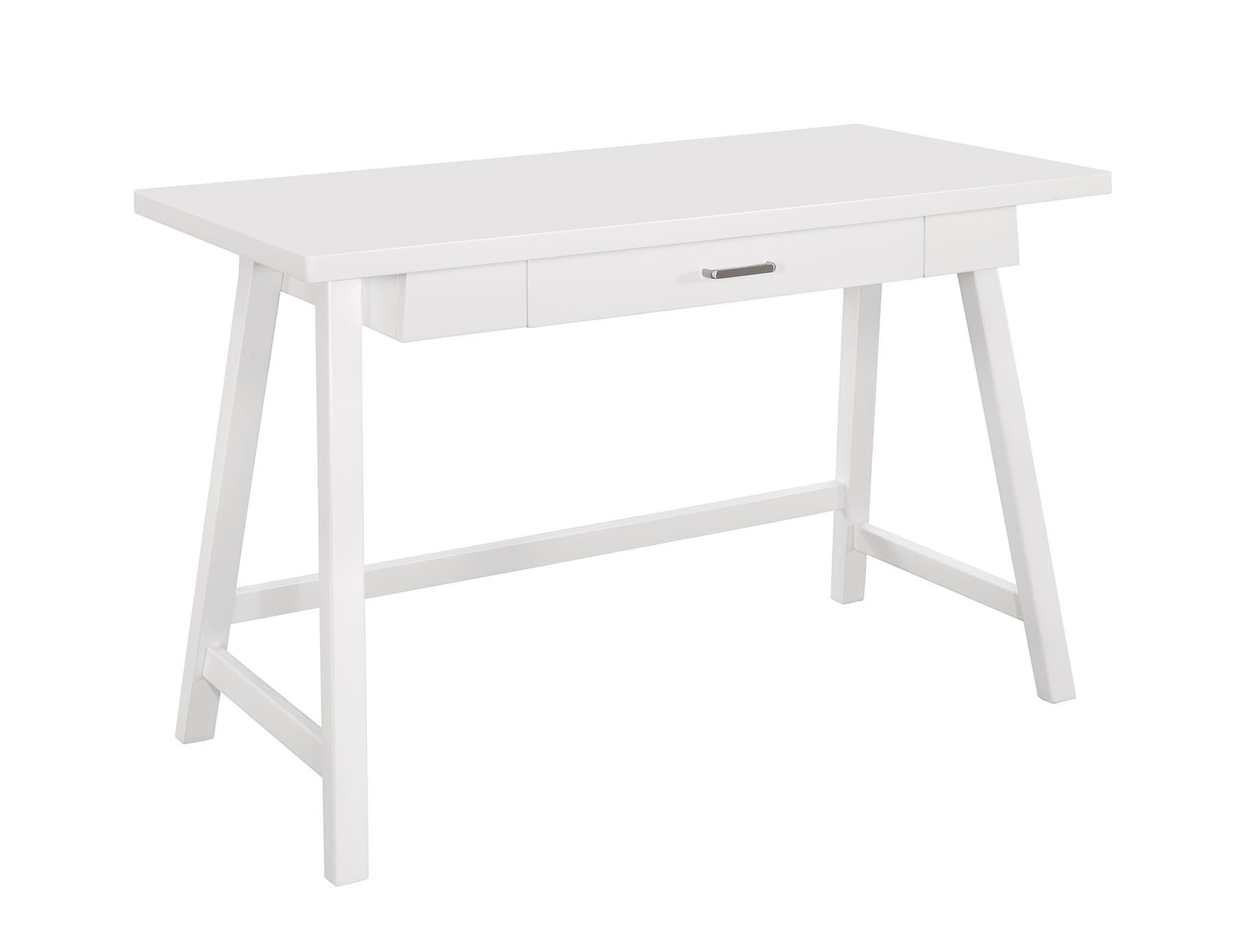 White Writing Desk & Chair