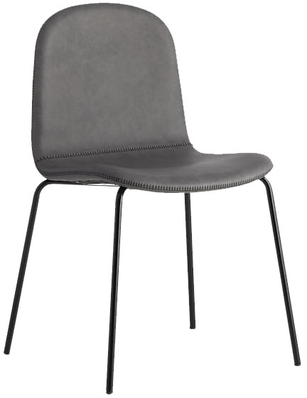 CB2 Primitivo Grey Chair