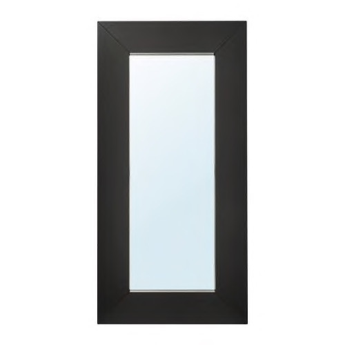 Ikea Mongstad Mirror in Black-Brown