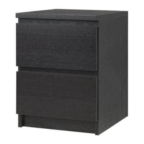 Ikea 2 Drawer Nightstand