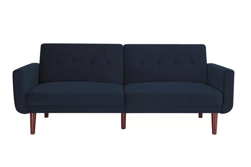 Langley Street Blue Convertible Sleeper Sofa