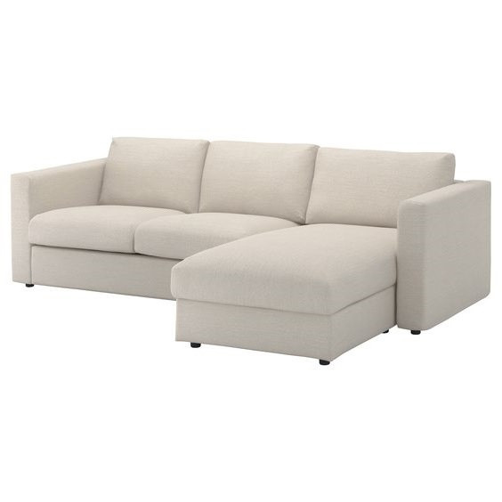 Ikea Vimle 3 Seat Sectional Sofa w/ Chaise