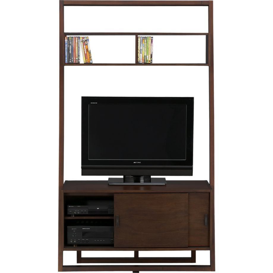 Crate & Barrel Sloane Leaning Media Center