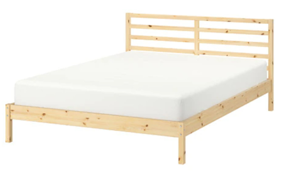 Ikea Tarva Queen Size Bed Frame