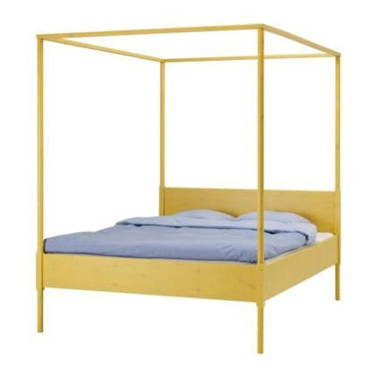 Ikea Queen Size 4-Poster Bed