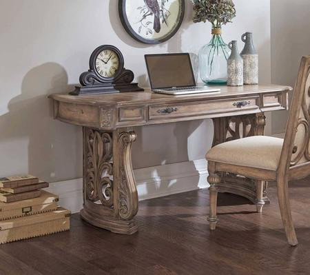 Natural Antique Writing Desk
