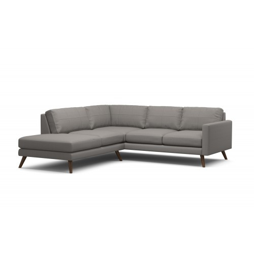 True Modern Dane Corner Sectional Sofa