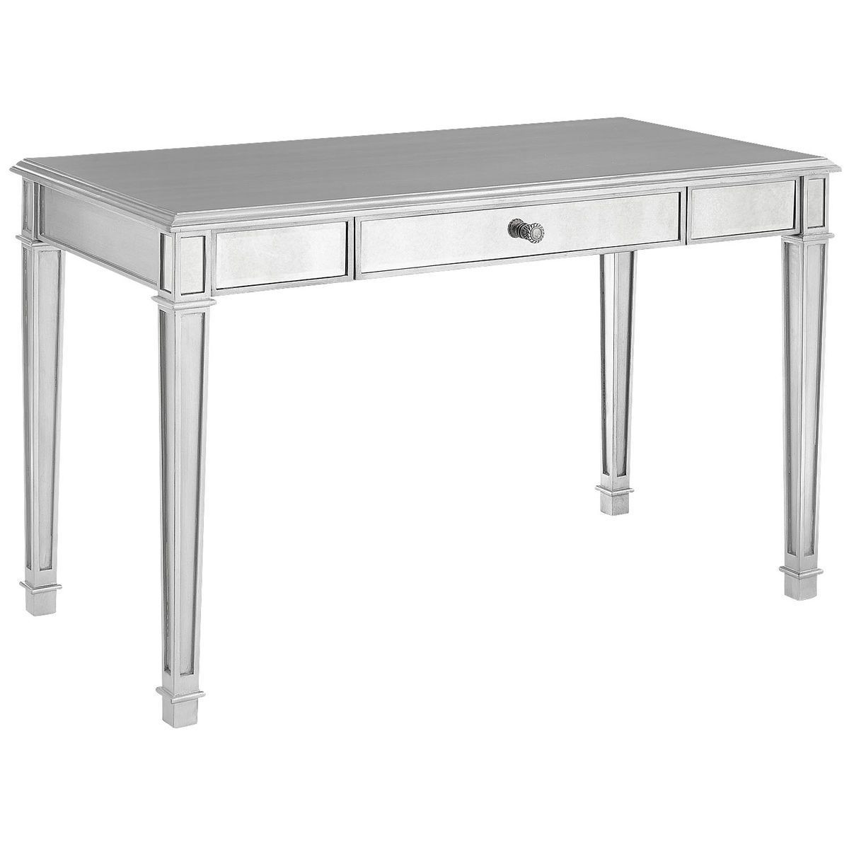 Pier 1 Hayworth Mirrored Vanity/Desk
