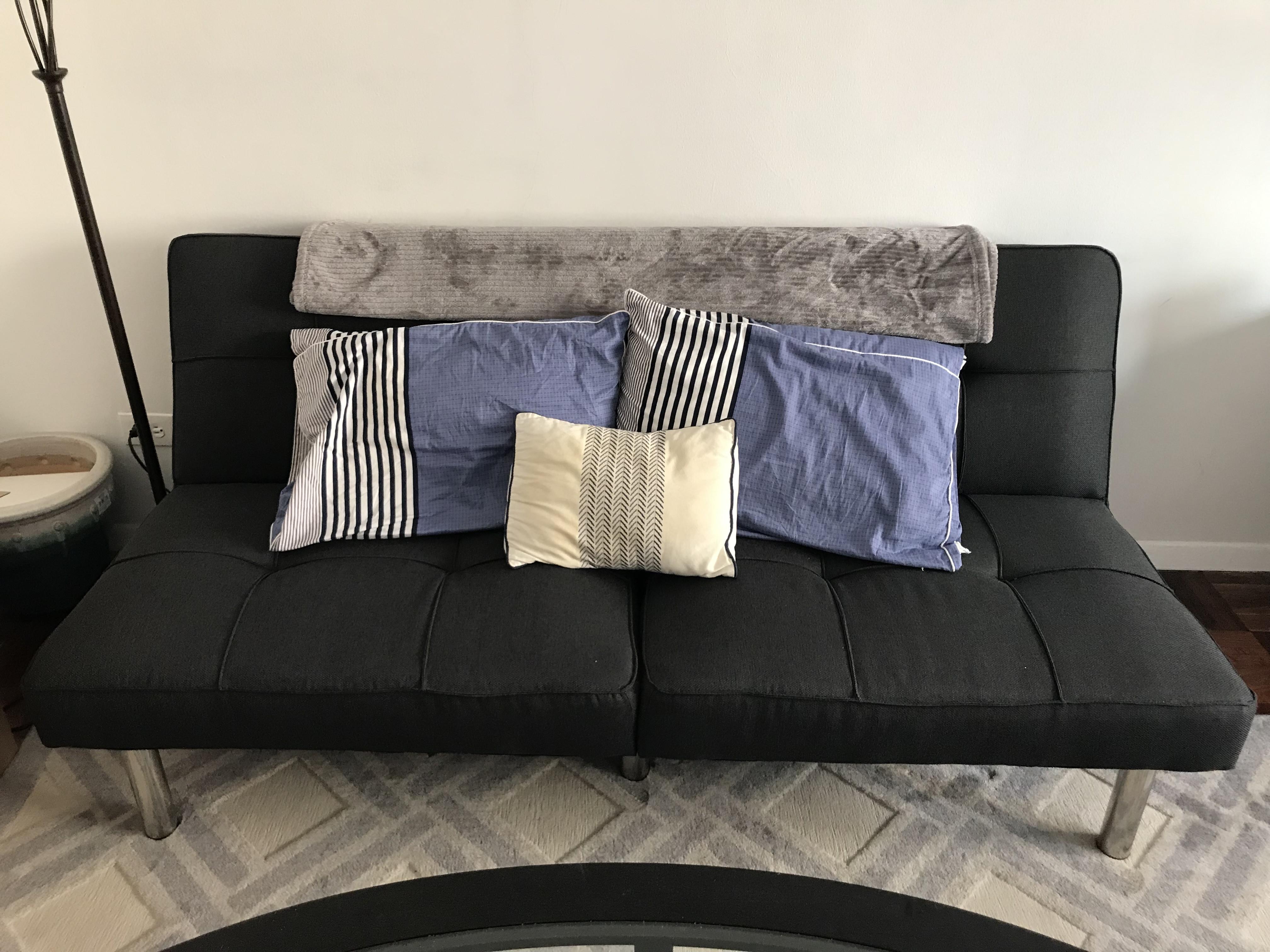 Stupendous Target Grey Futon Aptdeco Machost Co Dining Chair Design Ideas Machostcouk