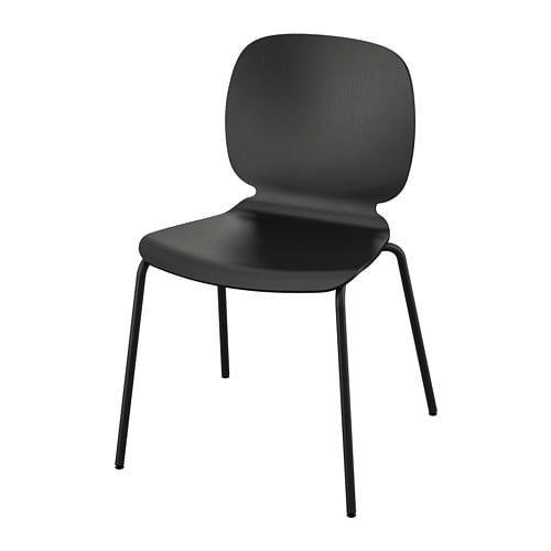 Ikea Svenbertil Black Chairs