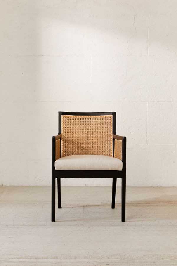 Urban Outfitters Elise Cane Arm Chairs
