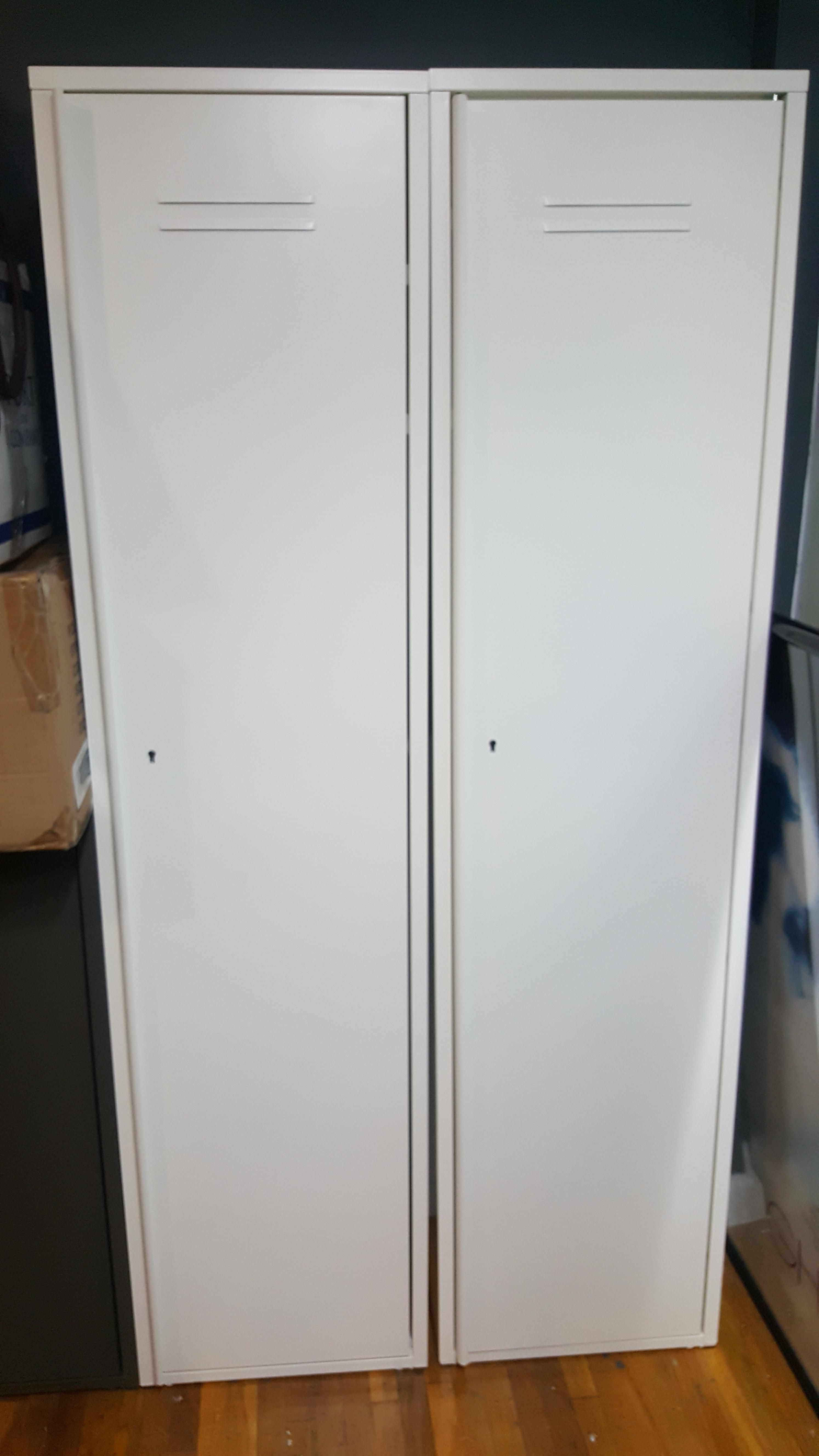 White Magnetic Locker
