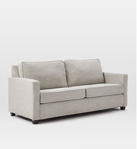 West Elm Henry Sofa in Dove Gray