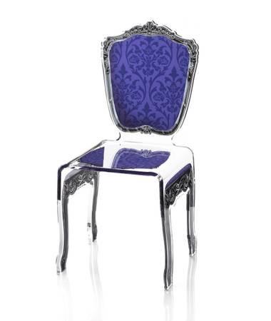 Acrylic Baroque Chair