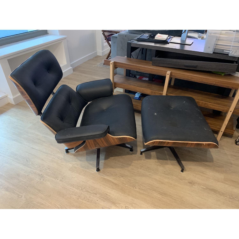 Stupendous Eames Lounge Chair Ottoman Replica Aptdeco Ibusinesslaw Wood Chair Design Ideas Ibusinesslaworg