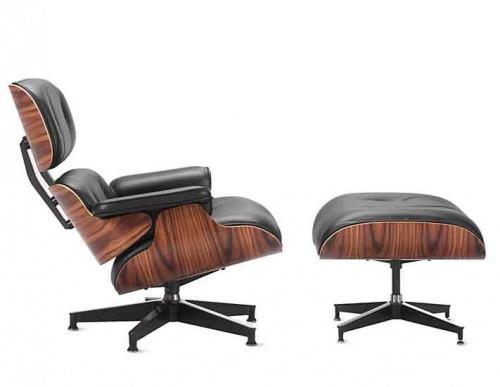 Eames Lounge Chair & Ottoman Replica