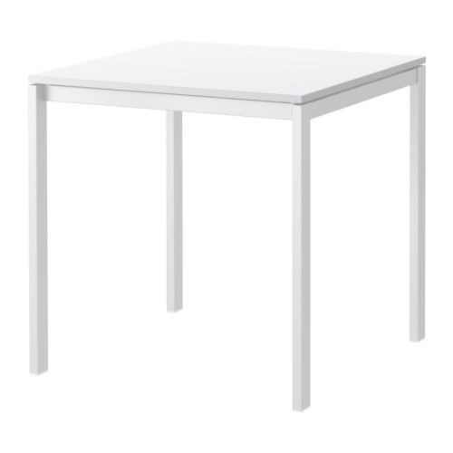 Ikea White Melltorp Dining Table