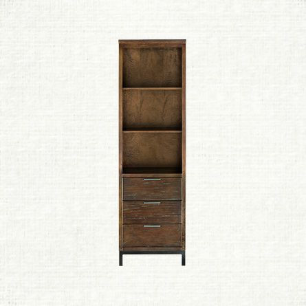Arhaus Palmer Collection Angled Bookcase