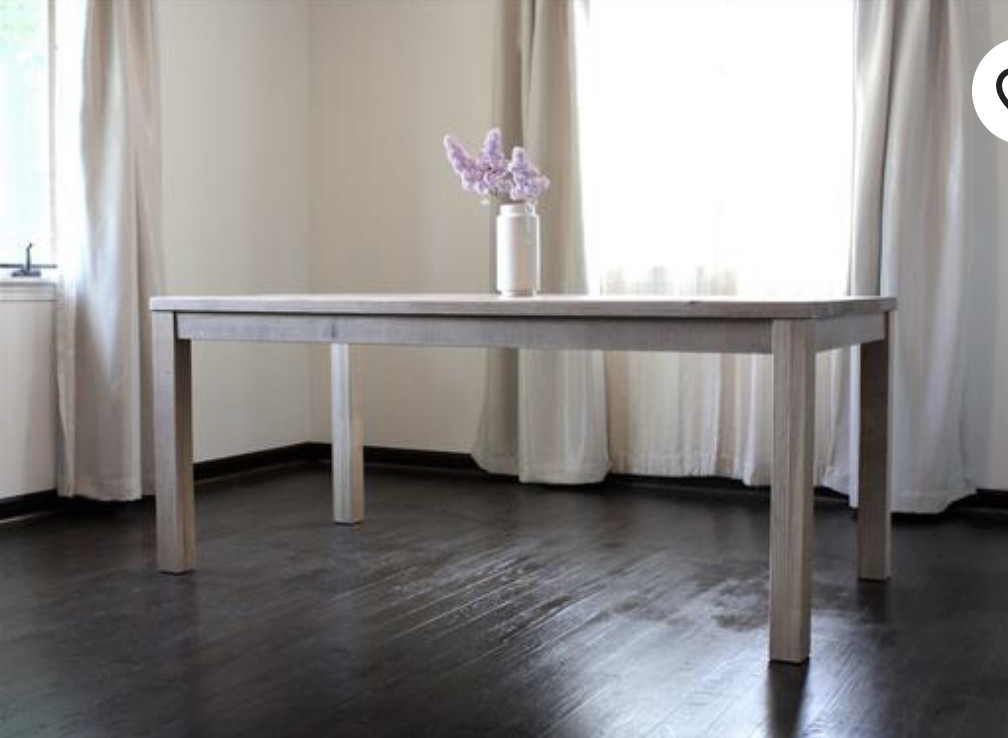 Northfield Store Wood Dining Table in Natural