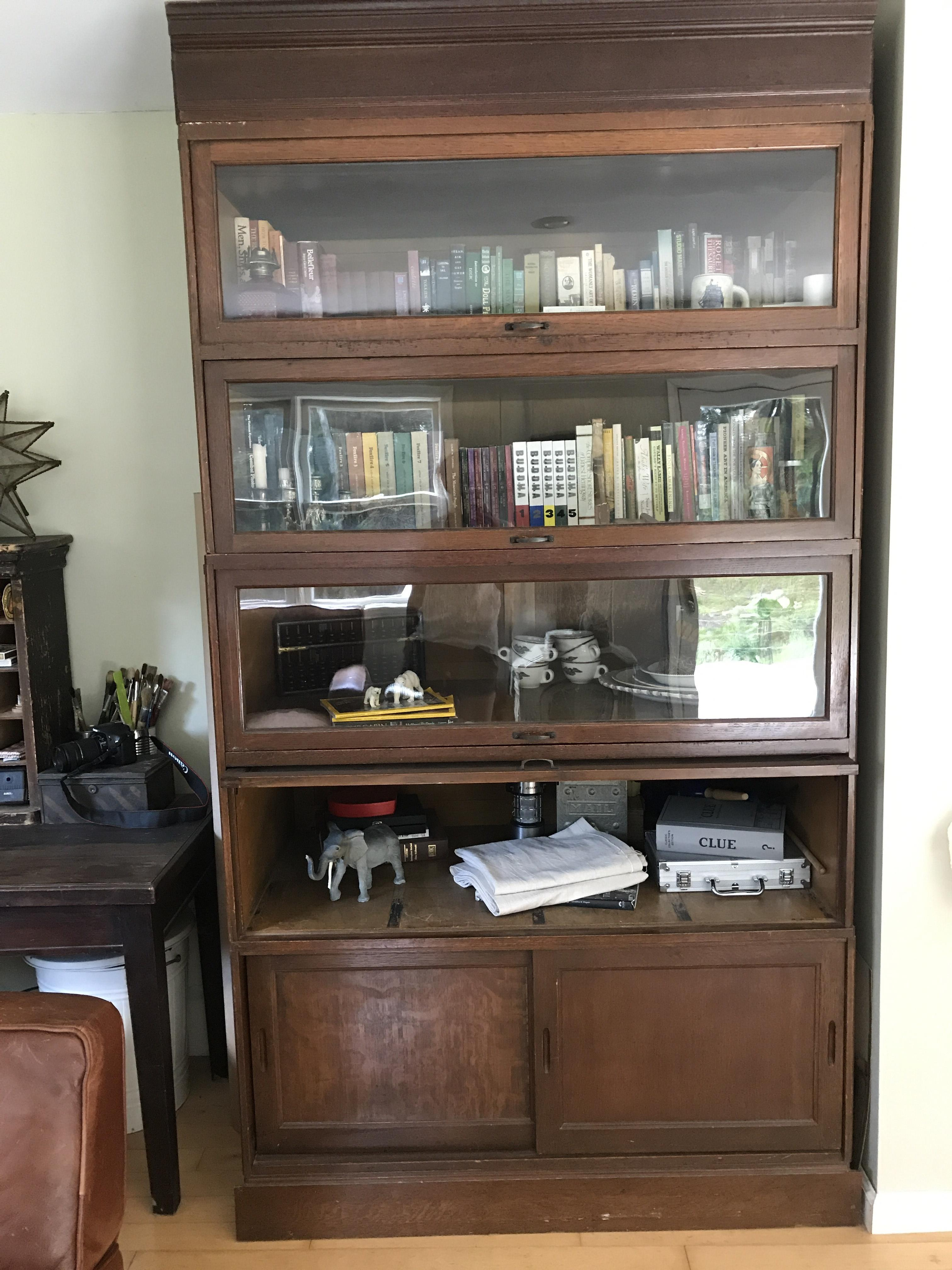 Barrister Bookcase from England