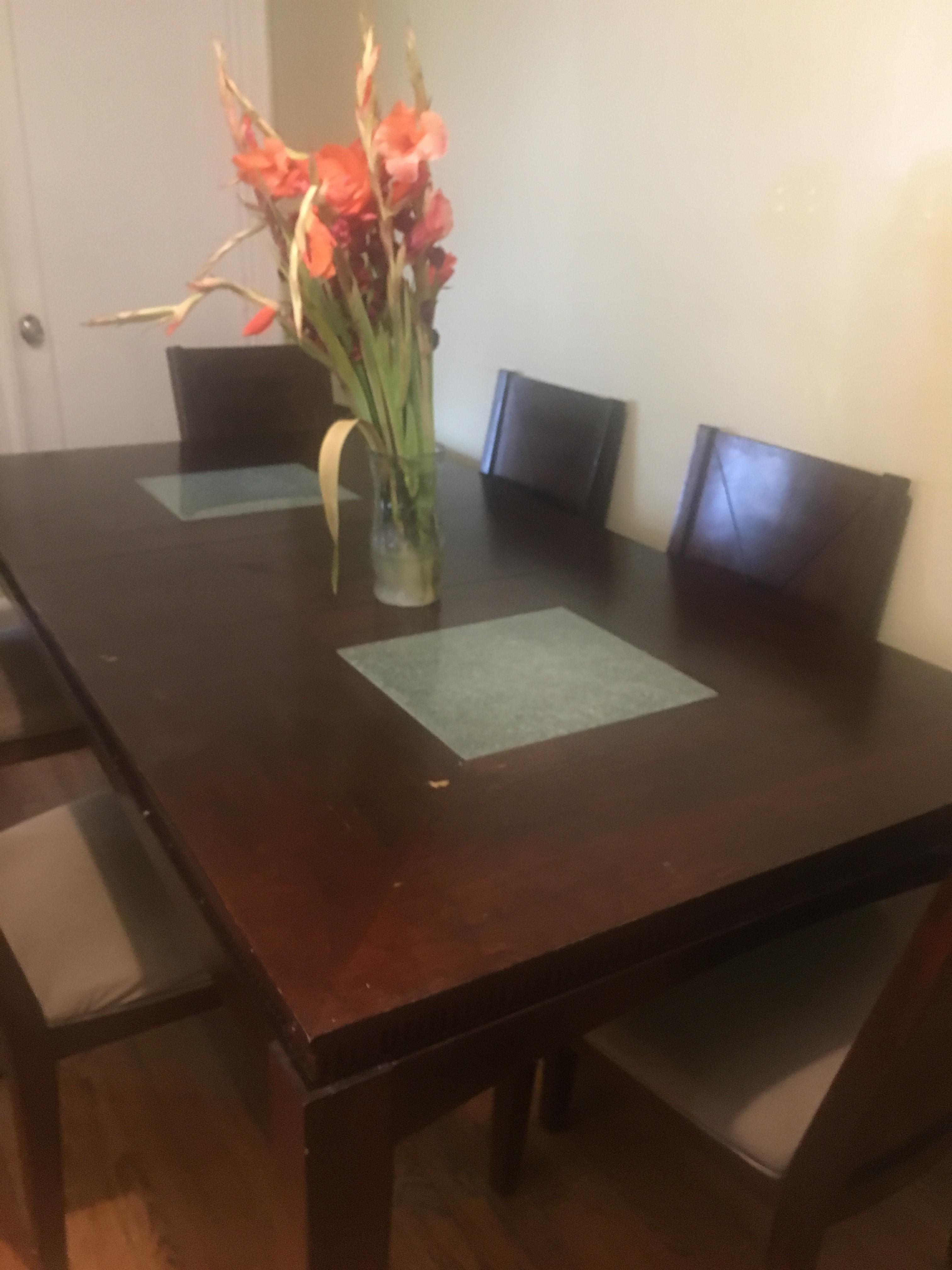 Bob's Wood Expandable Dining Table