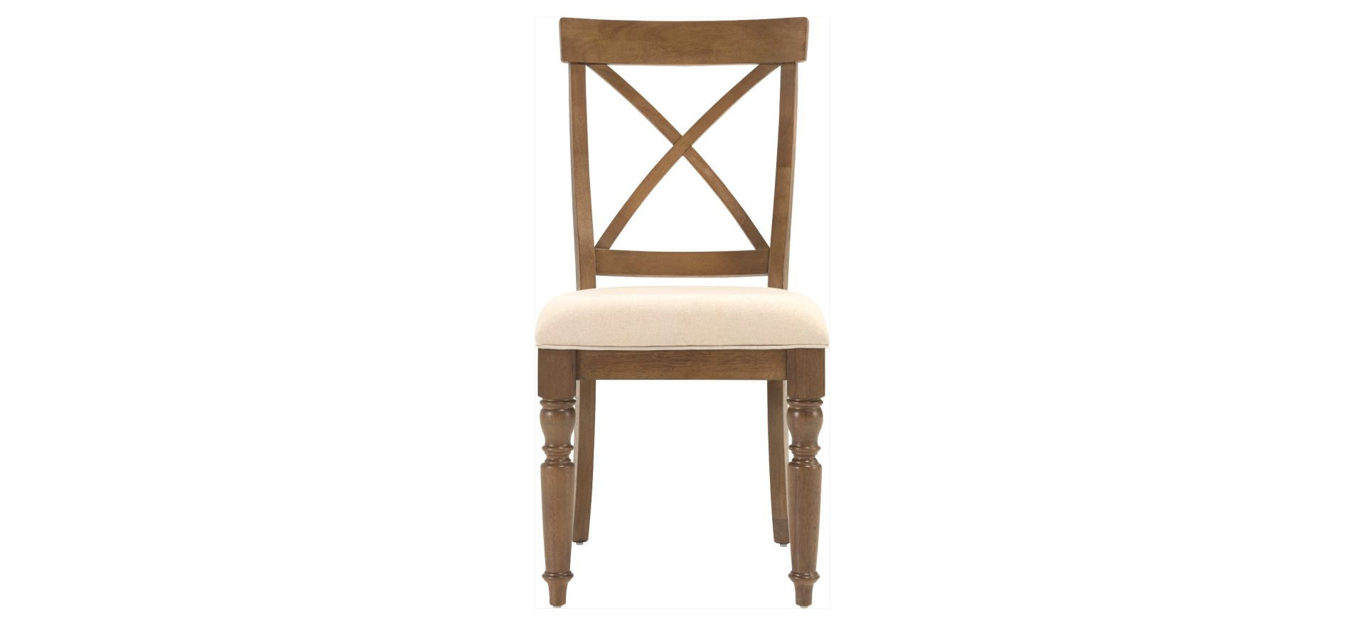 Raymour & Flanigan Aberdeen Beige Driftwood Dining Chairs