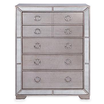 Z Gallerie Mirrored Armoire