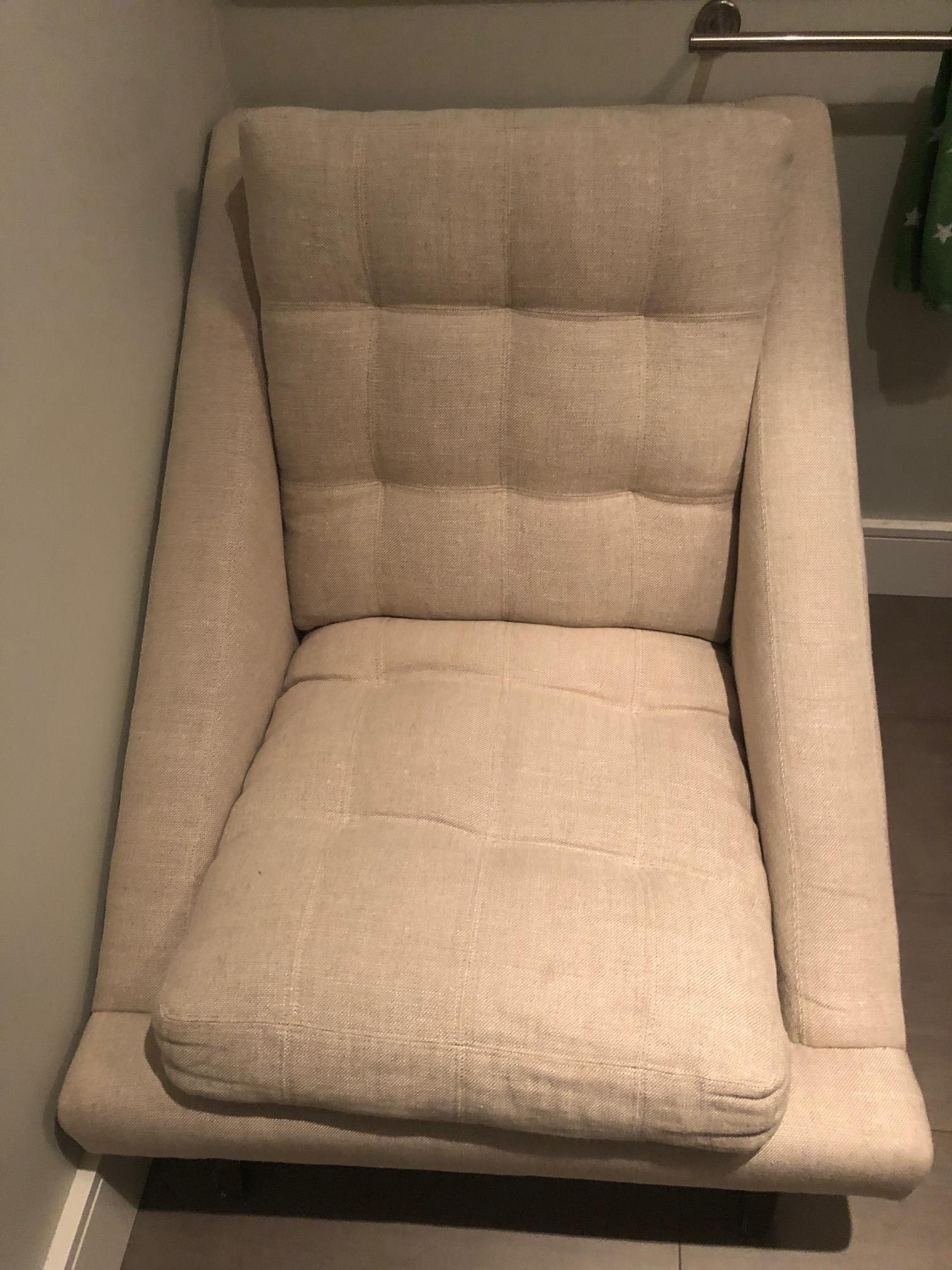 ABC Carpet and Home Tufted Armchair