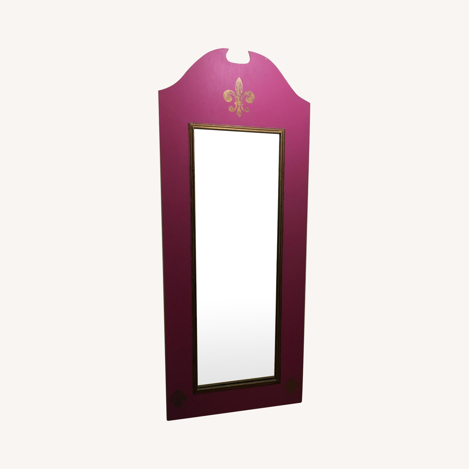 Pink Painted Full Length Mirror