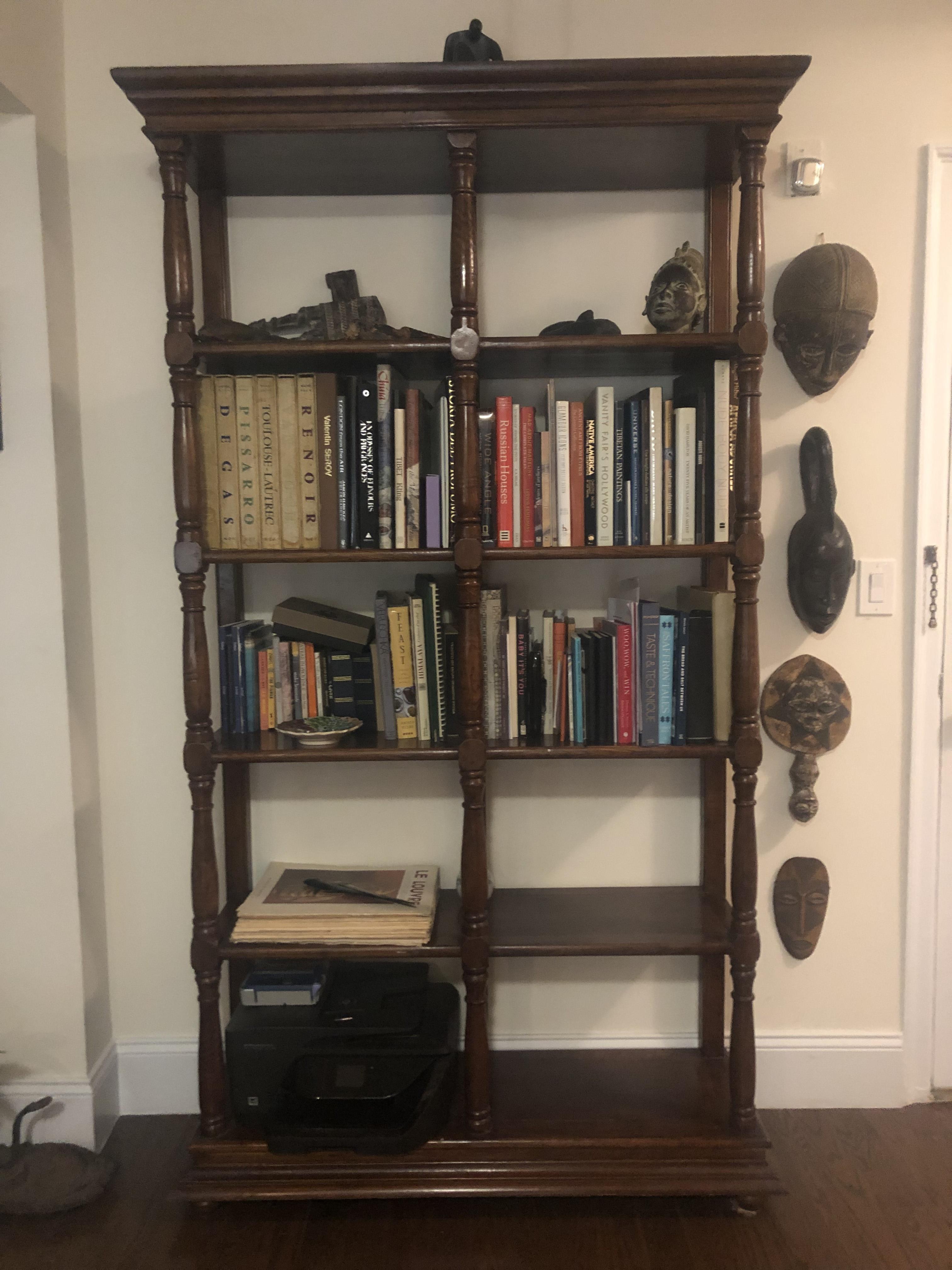 Solid Cherry European Classic Chic Bookcase